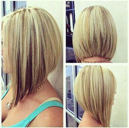 Angled Bob Medium Hair
