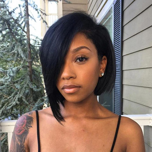 Asymmetrical Bob Black