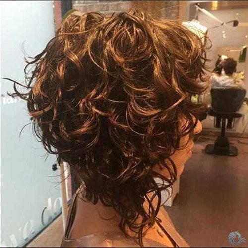 Lob Haircut For Curly Hair
