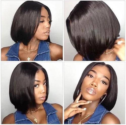 Bob Haircut African American