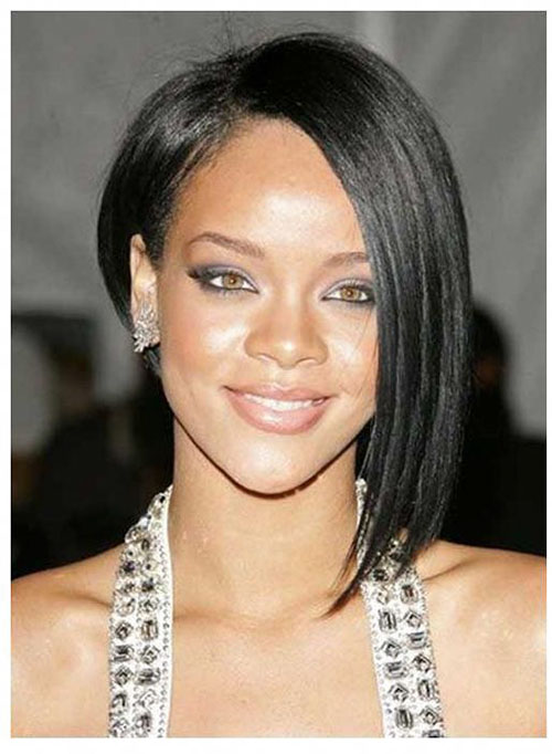Asymmetrical Bob 2020 Black Hair