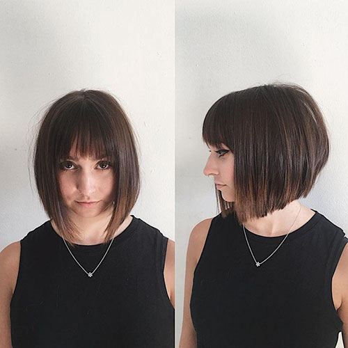 Pictures Of Bobs For Fine Hair