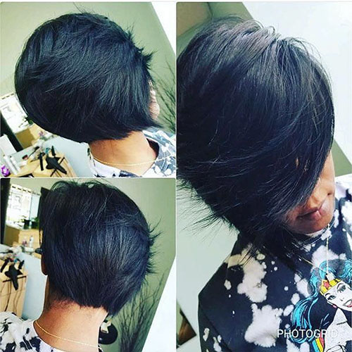 Bob Haircut Black Hair