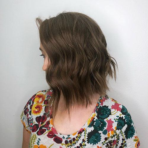 Messy Bob Hair Style