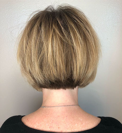 Stacked Bob Hair Style