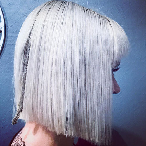 Bob Hair Cuts With Bangs
