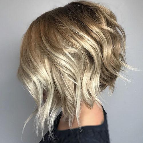 Textured Bob Haircut