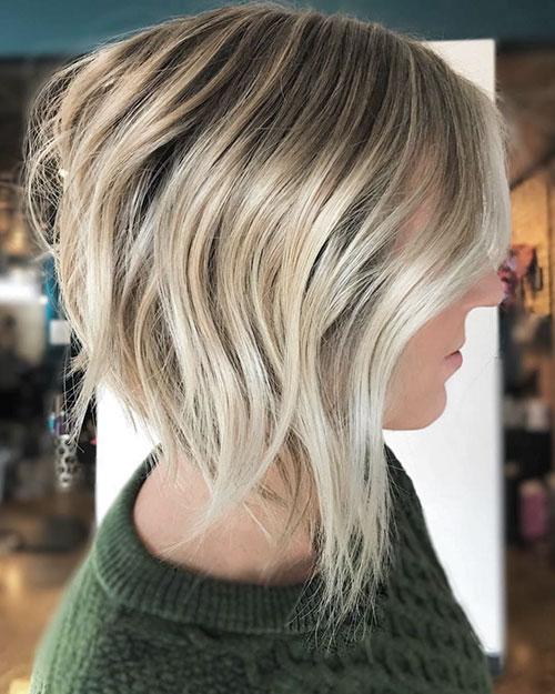 Textured Lob Hair