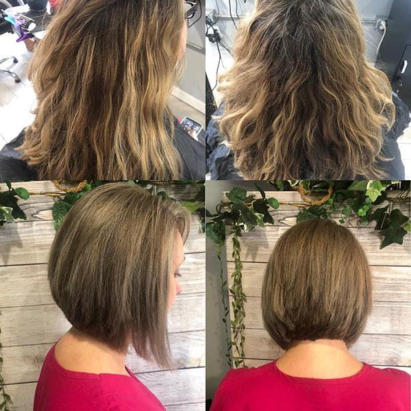 Images Of Stacked Bob Haircuts