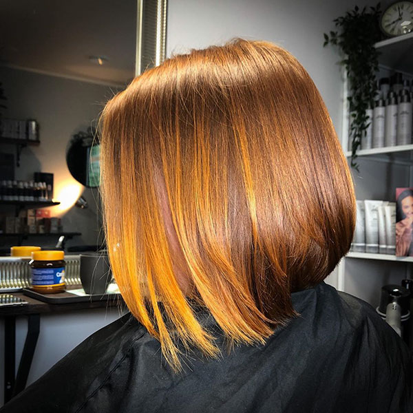 Pictures Of Stacked Bob Hairstyles