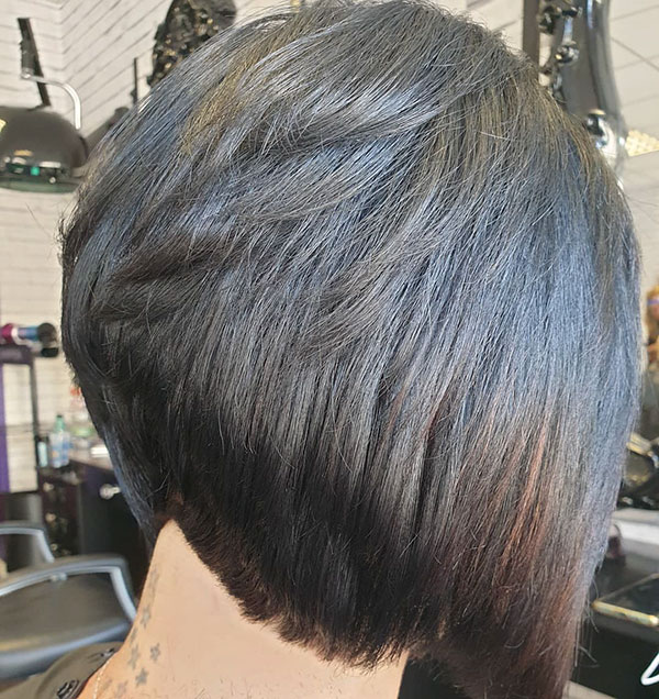 Pictures Of Short Layered Bob Haircuts