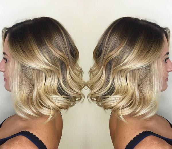 Examples Of Wavy Bob Haircuts