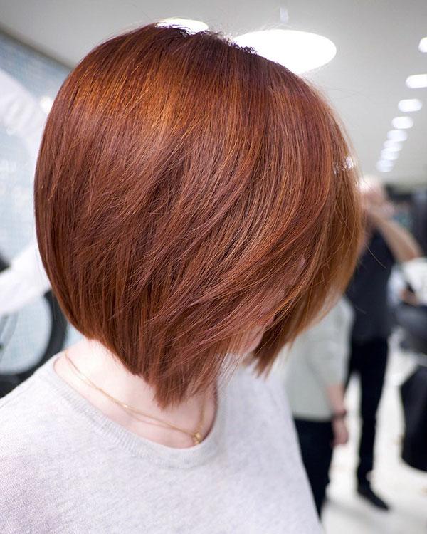 Short Layered Bob Hair Cuts