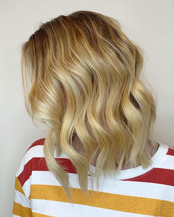 Wavy Bob Hair