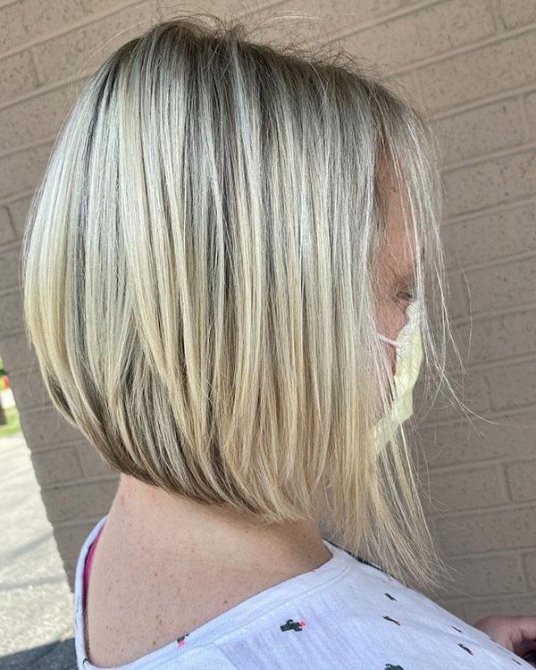 Medium Graduated Bob Hair Examples