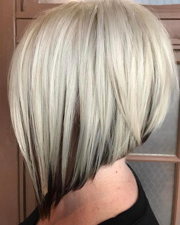 Medium Graduated Bob Hair Styles