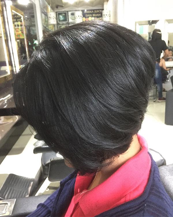 Medium Graduated Bob Hairstyles