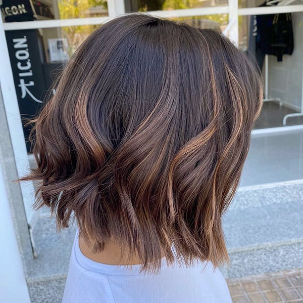 Short Angled Bob Haircuts 2020