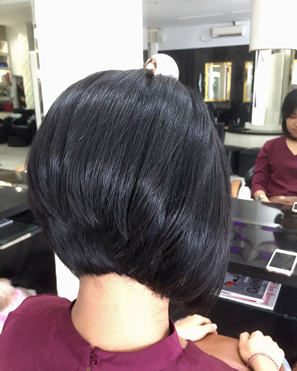 Stacked Bob Hairstyles For Short Hair