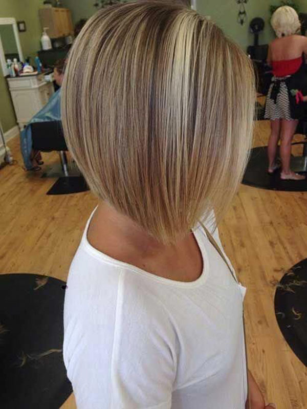 Pictures Of Short Stacked Bob Haircuts