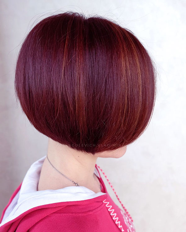 Short Straight Bob Haircuts
