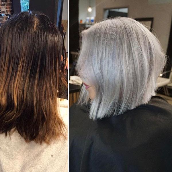 Angled Bob Haircuts For Short Hair