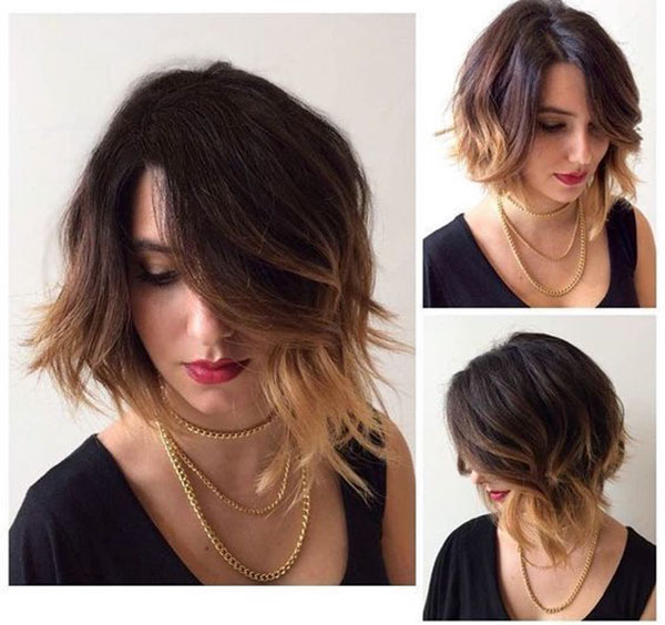 Images Of Medium Layered Bob Haircuts