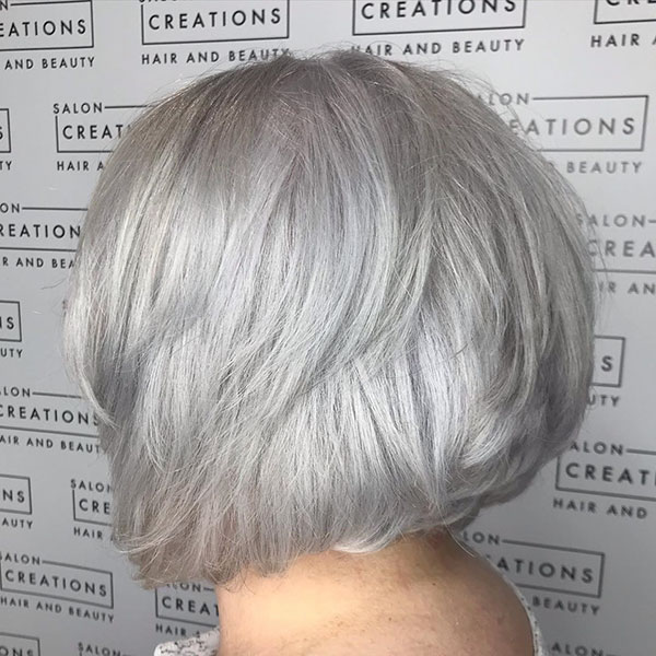 Pictures Of Medium Graduated Bob Hairstyles