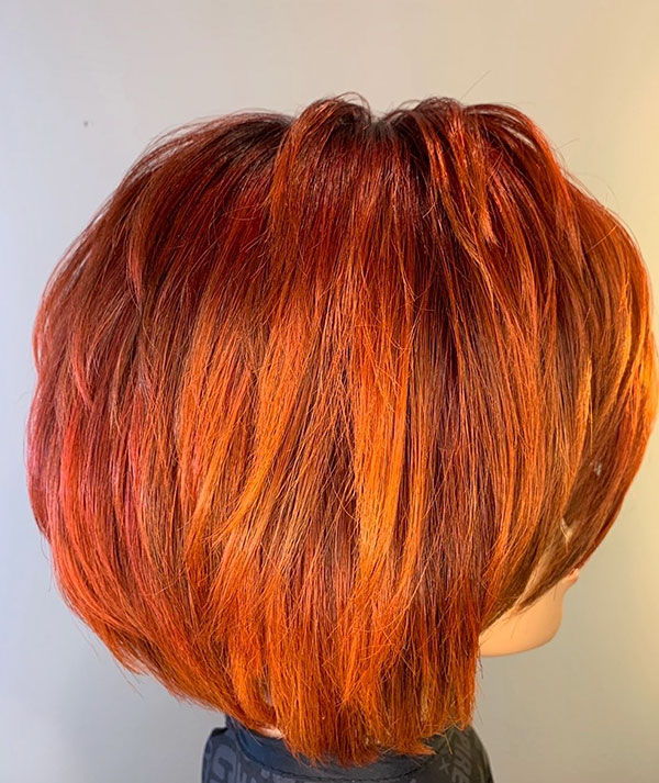 Stacked Bob Ideas For Short Hair